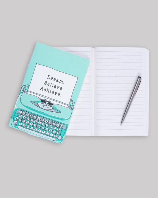 Shop Typewriter Dream Notebook-Design