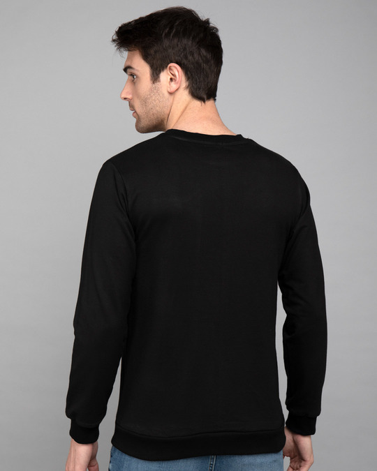 Shop Umid Pe Nahi Zidd Pe Fleece Light Sweatshirt-Back