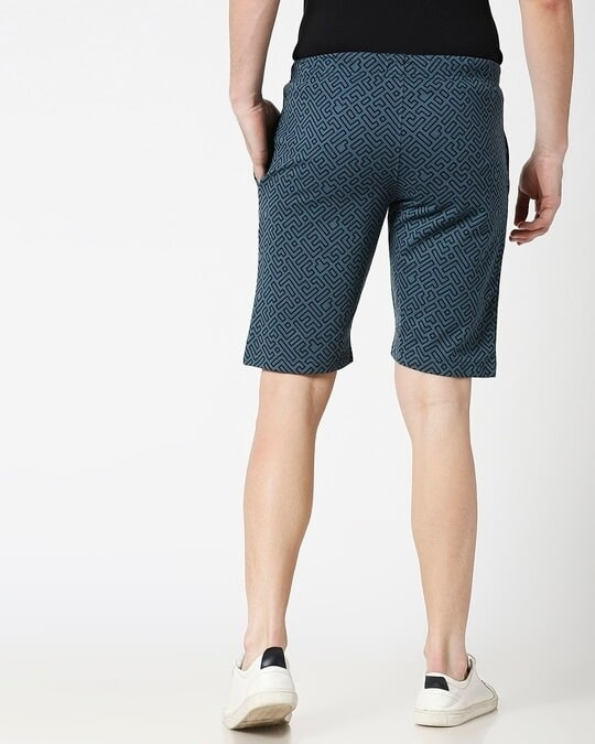 Shop Unending Maze AOP Shorts-Design