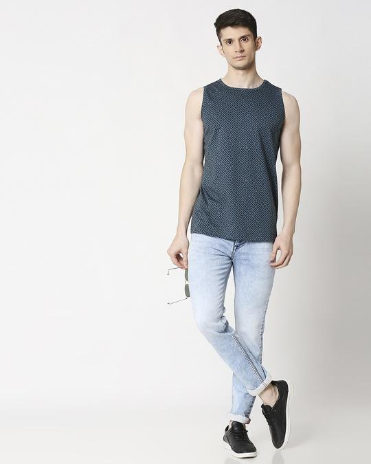 Shop Unending Maze AOP Vest