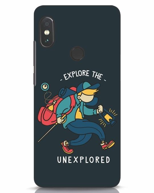 Shop Unexplored Xiaomi Redmi Note 5 Pro Mobile Cover-Front