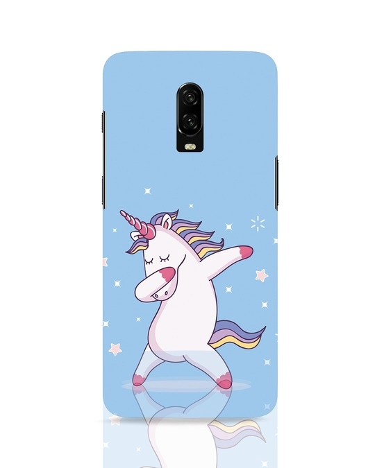 Shop Unicorn OnePlus 6T Mobile Cover-Front