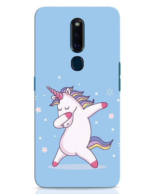 Shop Unicorn Oppo F11 Pro Mobile Cover-Front