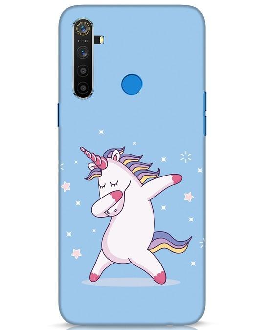 Shop Unicorn Realme 5 Mobile Cover-Front