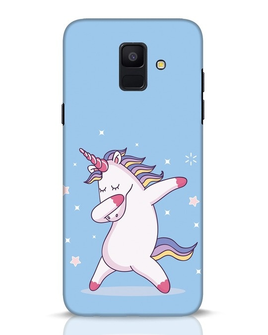 Shop Unicorn Samsung Galaxy A6 2018 Mobile Cover-Front