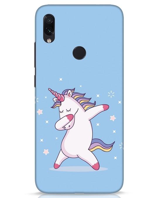 Shop Unicorn Xiaomi Redmi Note 7s Mobile Cover-Front