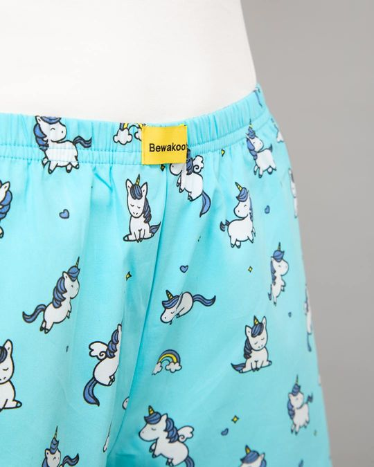 Shop Unicorns All Over Printed Boxer