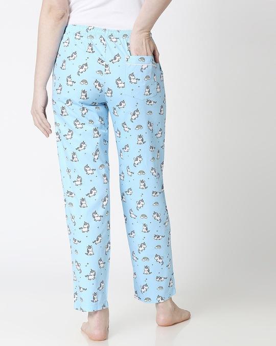 Shop Unicorns All Over Printed Pyjama-Full