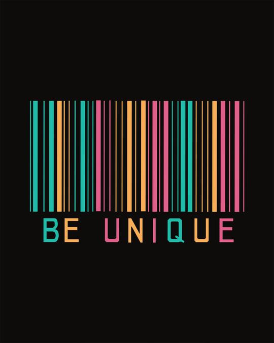 Shop Unique Barcode Boyfriend T-Shirt-Full