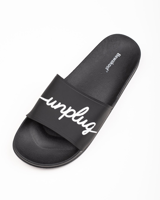 Shop Unplug Yourself Sliders-Back