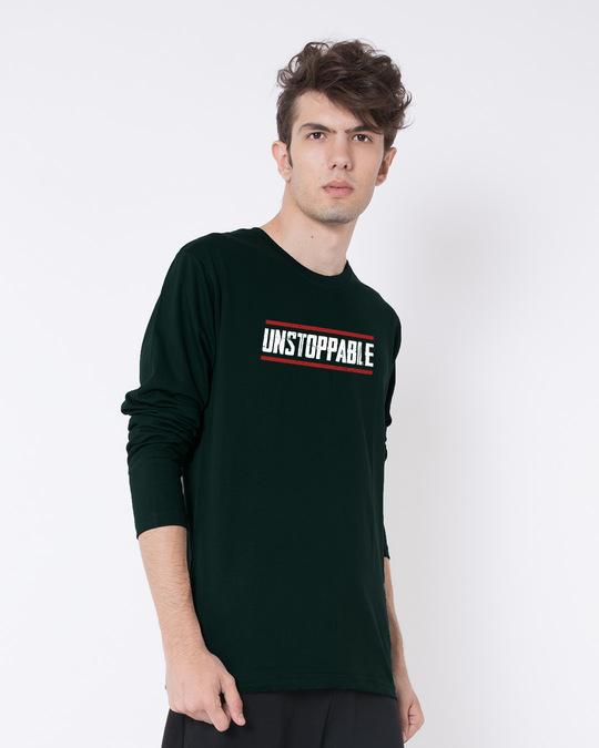 Shop Unstoppable Full Sleeve T-Shirt-Back