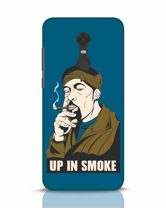 Shop Up In Smoke Xiaomi Redmi Note 5 Mobile Cover-Front