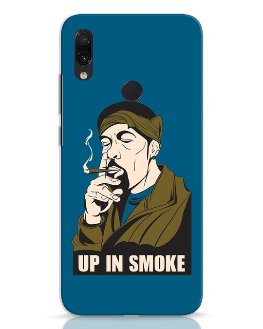 Shop Up In Smoke Xiaomi Redmi Note 7 Mobile Cover-Front