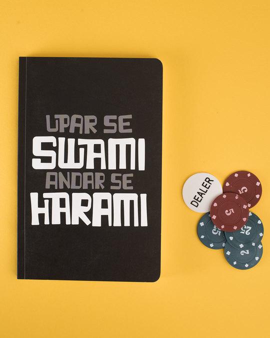Shop Upar Se Swami Notebook