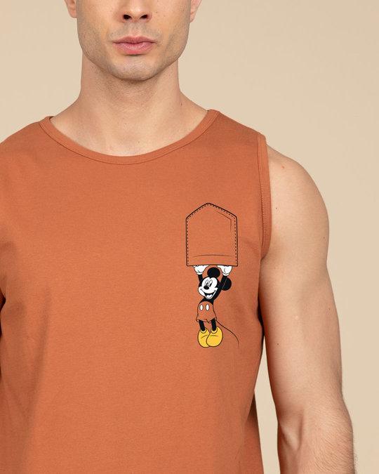 Shop Upside Down Mickey Vest (DL)-Front