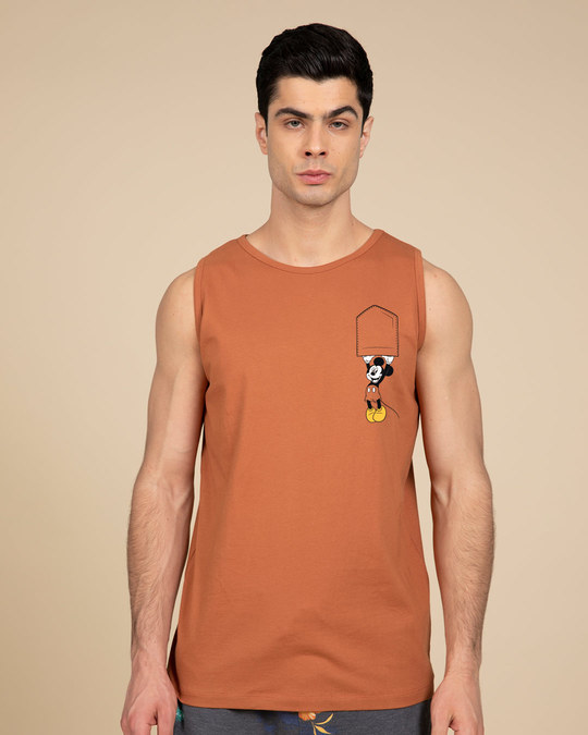 Shop Upside Down Mickey Vest (DL)-Back