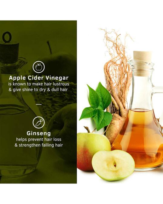 Shop Anti Hair Fall Shampoo With Apple Cider Vinegar   250 Ml