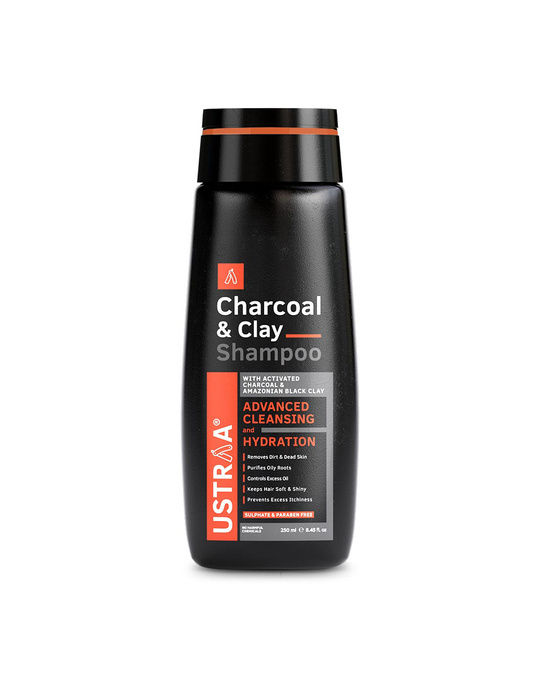 Shop Charcoal & Clay Shampoo   250 Ml-Front