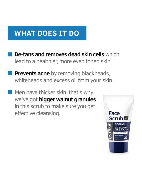 Shop De Tan Face Scrub   100g-Design