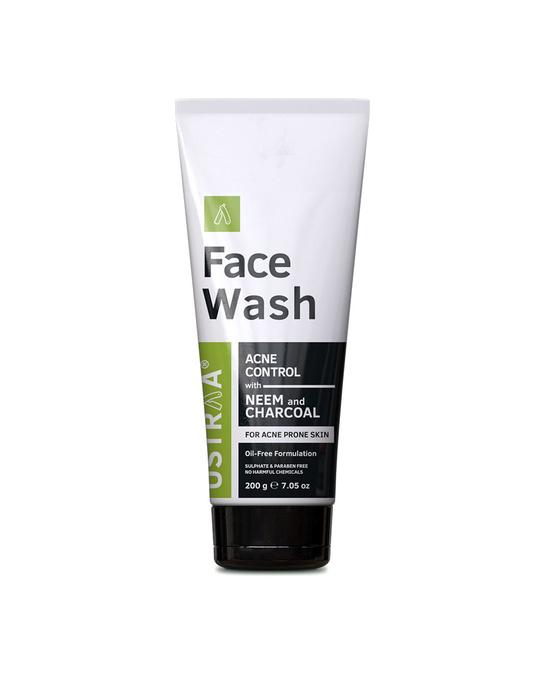 Shop Face Wash Neem & Charcoal   200g-Front