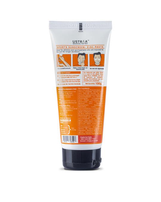 Shop Sports Sunscreen Spf 50+   100g-Back