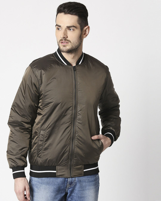 Shop Copper Ultra Varsity Bomber Jacket-Design