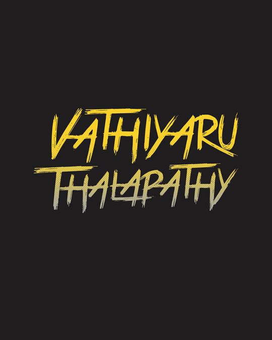 Shop Vaathi Full Sleeve T-Shirt Black