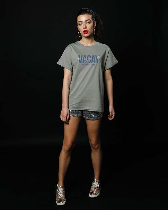 Shop Vacay Mode Boyfriend T-Shirt-Full