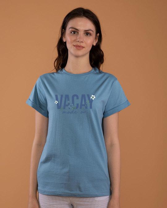 Shop Vacay Mode Boyfriend T-Shirt-Front