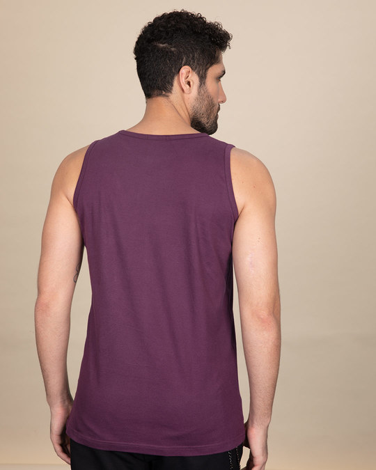 Shop Vada Pav Man Vest-Back