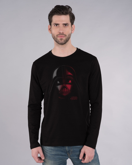Shop Vader Out Of Darkness Full Sleeve T-Shirt (SWL)-Front