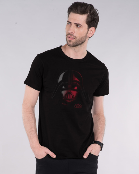 Shop Vader Out Of Darkness Half Sleeve T-Shirt (SWL)-Front