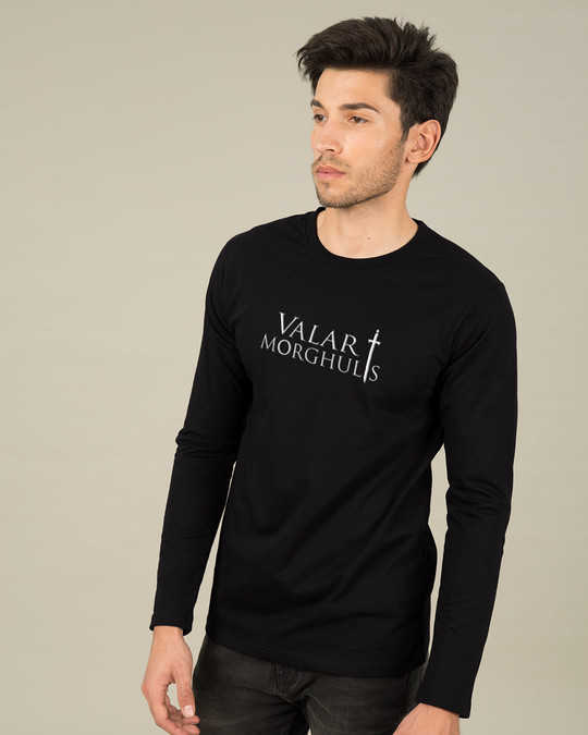 Shop Valar Morghulis Full Sleeve T-Shirt (GTL)-Back