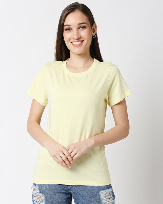 Shop Vax Yellow Half Sleeve Relaxed Fit T-Shirt-Back