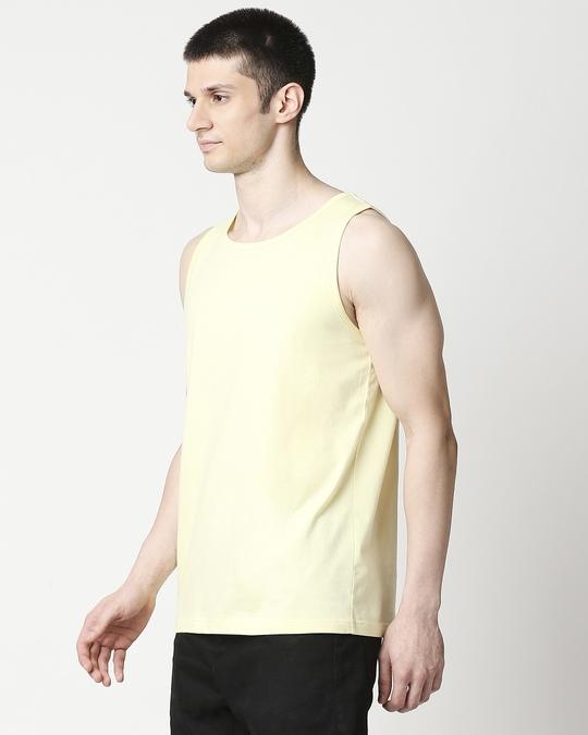 Shop Vax Yellow Round Neck Vest-Design