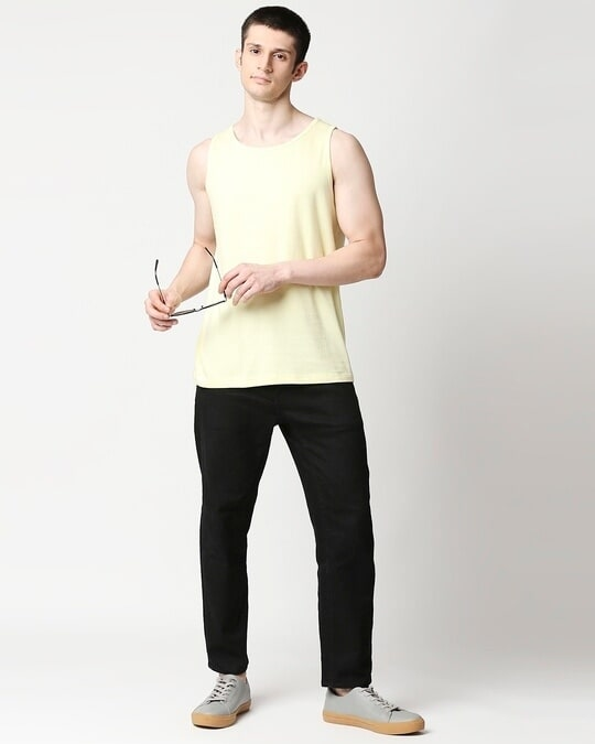 Shop Vax Yellow Round Neck Vest
