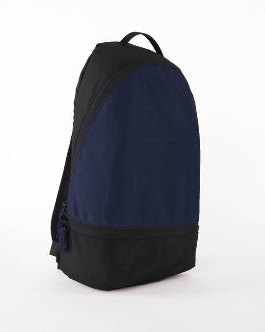 Shop Vector Blue-Michigan Black Plain Essential Mini Backpack-Back