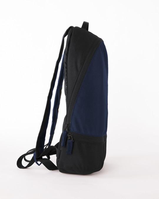 Shop Vector Blue-Michigan Black Plain Essential Mini Backpack-Full