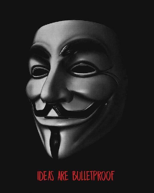 Shop Vendetta Bulletproof Basic Round Hem T-Shirt