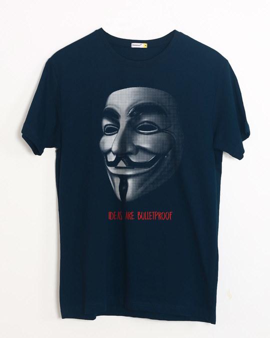 Shop Vendetta Bulletproof Half Sleeve T-Shirt-Front