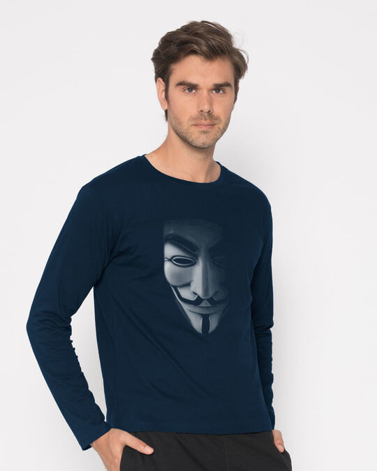 Shop Vendetta Shadows Full Sleeve T-Shirt-Back
