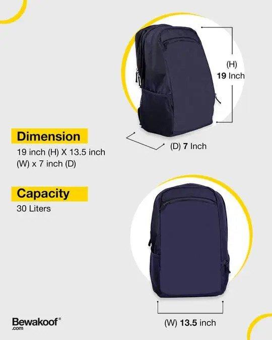Shop Venom Char (SPL) Laptop Backpack Black-Design