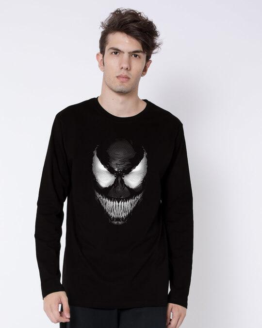 Shop Venom Dark Full Sleeve T-Shirt (SPL)-Front