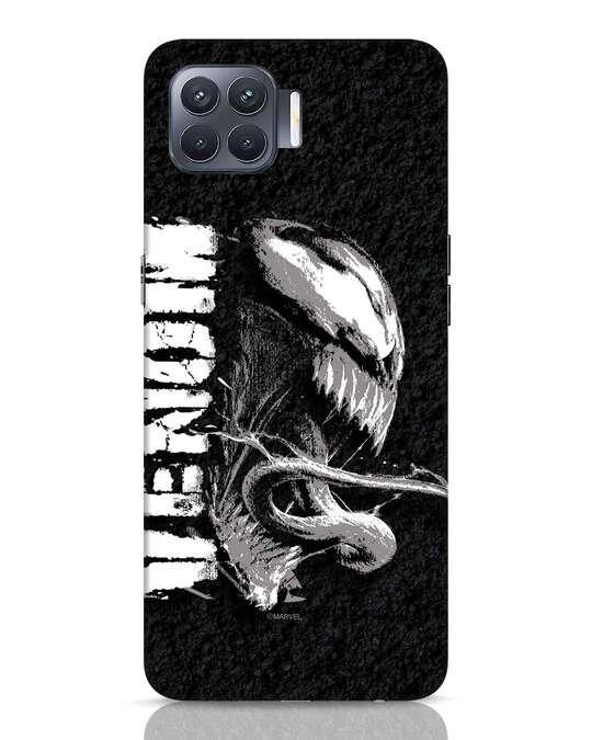 Shop Venom Grunge Oppo F17 Pro Mobile Cover (SPL)-Front