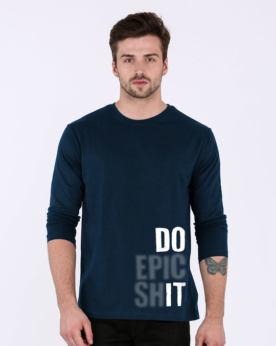 Shop Very Epic Full Sleeve T-Shirt-Front