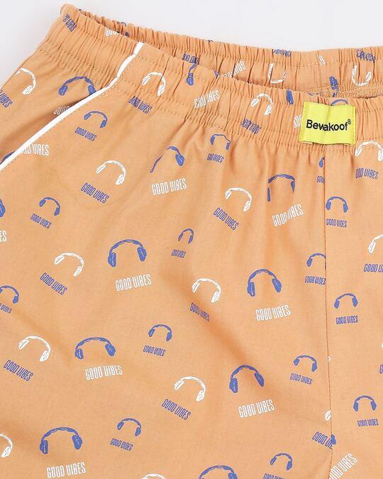Shop Orange Rush AOP Pyjama