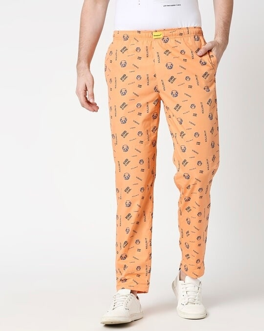 Shop Orange Rush AOP Pyjama-Back
