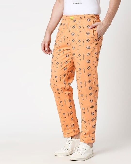 Shop Orange Rush AOP Pyjama-Design