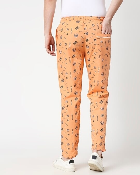 Shop Orange Rush AOP Pyjama-Full