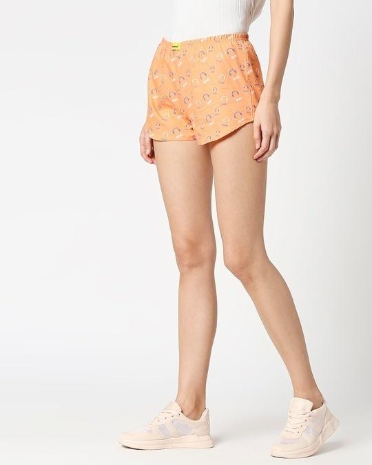 Shop Orange Rush AOP Boxer-Design